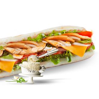 Sandwich boursin